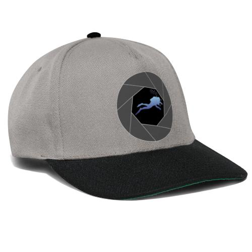 Taucher in Blende - Snapback Cap