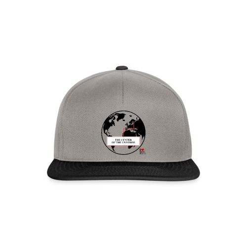 THE CENTER OF THE UNIVERSE - Snapback Cap