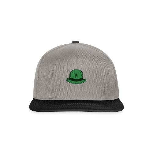 Grüner Rätsel Hut Riddler - Snapback Cap
