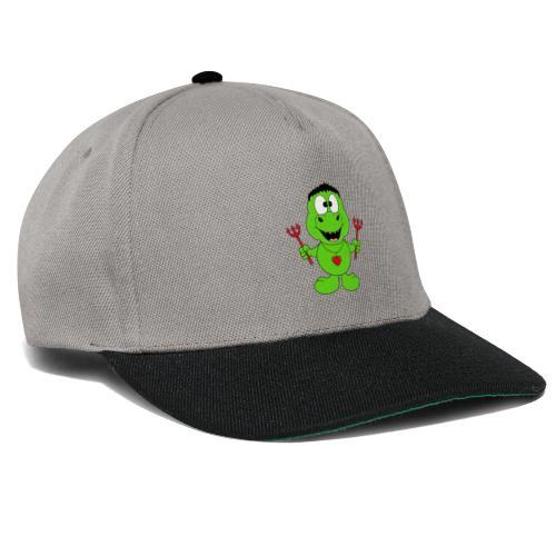 Lustiger Dino - Dinosaurier - Teufel - Kids - Baby - Snapback Cap