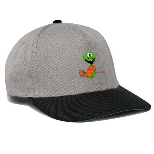 Lustiges Krokodil - Hexe - Kind - Baby - Fun - Snapback Cap