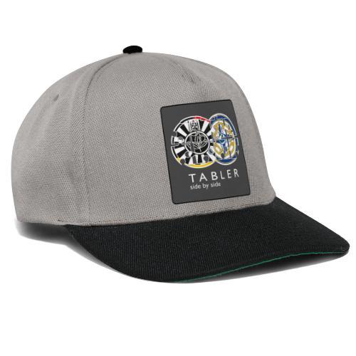 TABLER side by side - logo dunkel - Snapback Cap