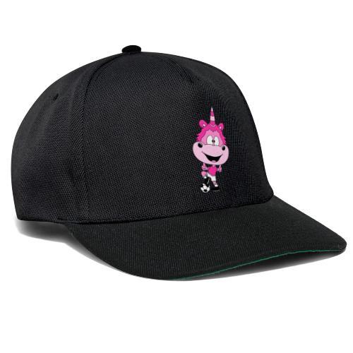 Einhorn - Fußball - Spieler - Kind - Baby - Fun - Snapback Cap
