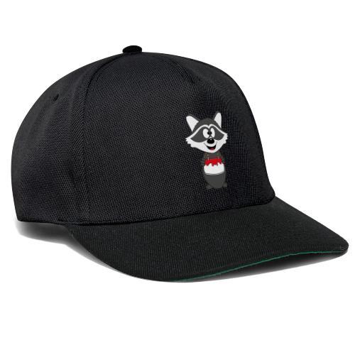 Waschbär - Geburtstag - Torte - Kind - Tier - Baby - Snapback Cap