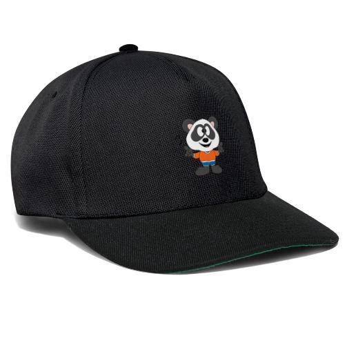 Panda - Bär - Musik - Kind - Tier - Baby - Snapback Cap