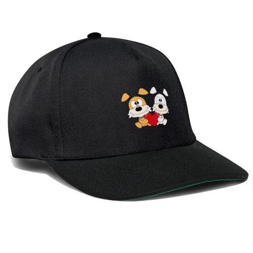 Hunde - Herz - Liebe - Love - Kind - Baby - Tier - Snapback Cap