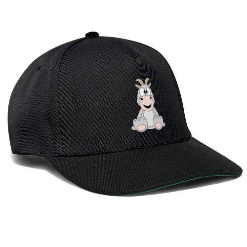 Ziege - Tier - Bauernhof - Kind - Baby - Fun - Snapback Cap