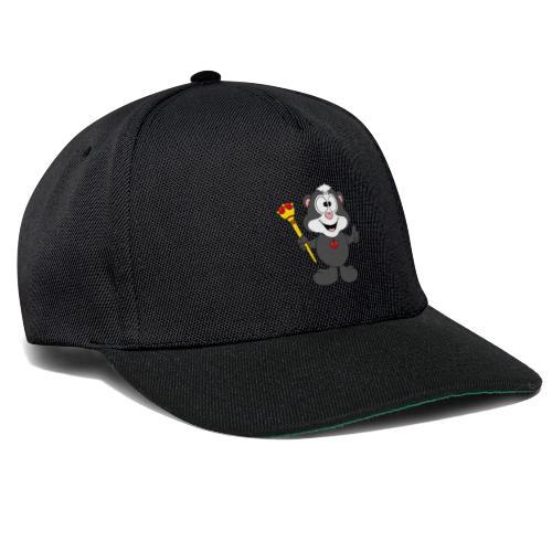Stinktier - König - Königin - Tier - Kind - Baby - Snapback Cap