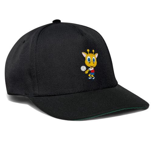 Giraffe - Volleyball - Sport - Tier - Kind - Baby - Snapback Cap