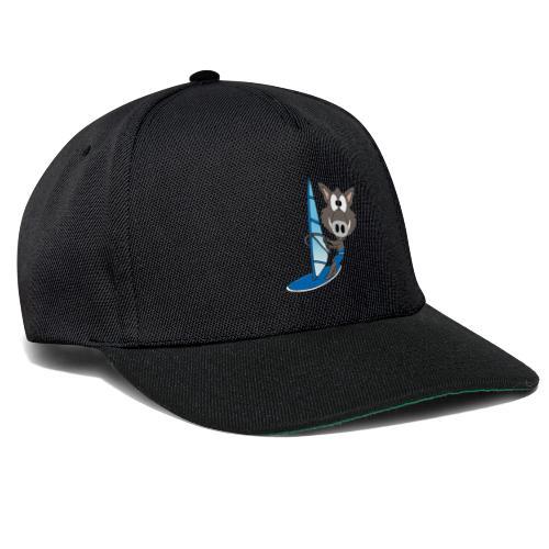 Wildschwein - Surfer - Windsurfer - Sport - Snapback Cap