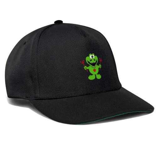 Krokodil - Teufel - Kind - Baby - Tier - Fun - Snapback Cap