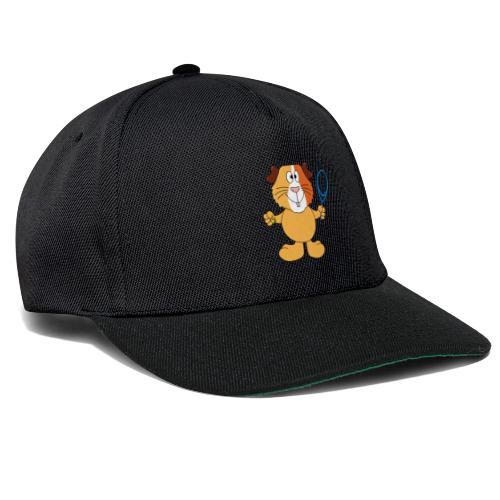 Meerschweinchen - Tennis - Sport - Tier - Kinder - Snapback Cap
