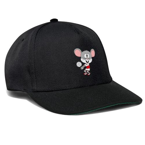 Maus - Volleyball - Sport - Tier - Kind - Baby - Snapback Cap