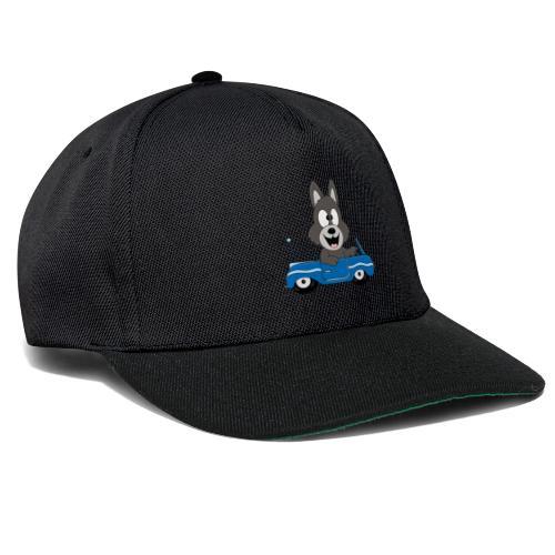 Wolf - Auto - Cabrio - Führerschein - Fahrschule - Snapback Cap