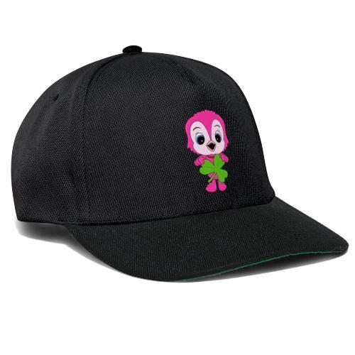 Eule - Kleeblatt - Vogel - Tier - Kind - Baby - Snapback Cap