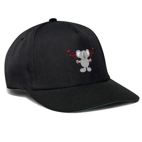 Koala - Bär - Seifenblasen - Herzen - Liebe - Love - Snapback Cap