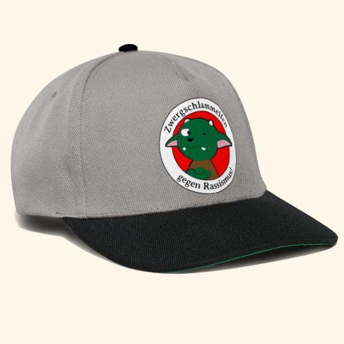Zwergschlammelfen gegen Rassismus - Snapback Cap