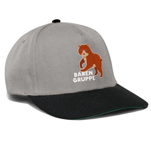 Bären Gruppe Kindergarten - Snapback Cap