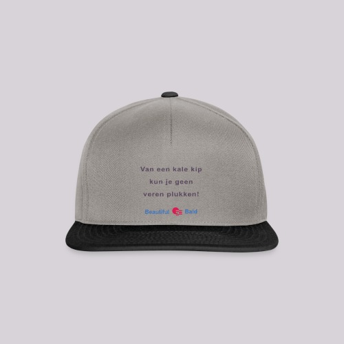 Van een kale kip b - Snapback cap