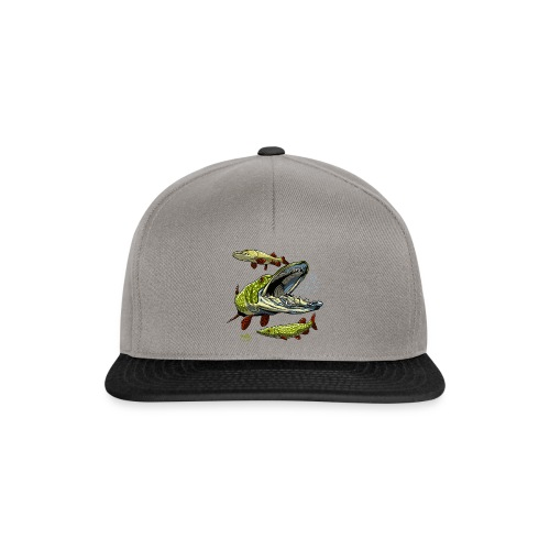 Cool Pike Fishing T-shirt, Hoodie and Products - Snapback Cap