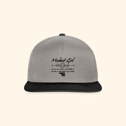 Modest Girl Shirts - Snapback Cap