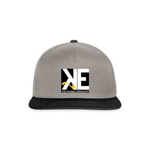 Keangelidesart Yellow Wave - Snapback Cap