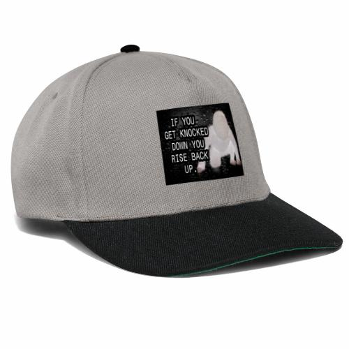 If you get Knocked down Quote - Snapback Cap