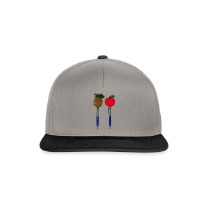 Pineapple-apple-pen - Snapback cap