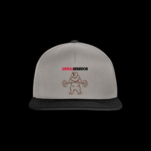 Animal behavior color oben - Snapback Cap