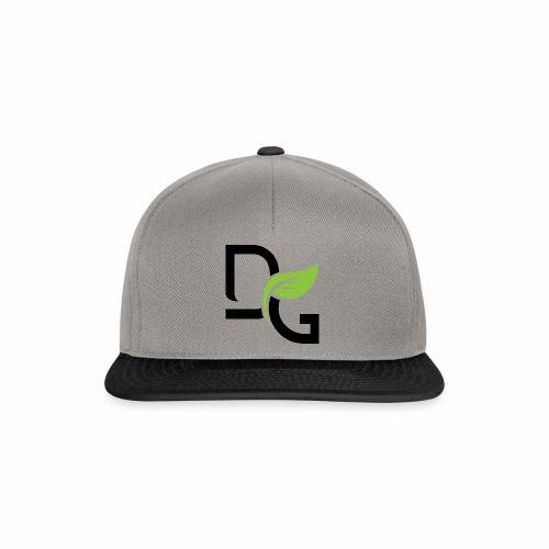 DrGreen Logo Symbol schwarz grün - Snapback Cap