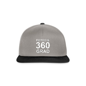 Fotos in 360 Grad - Snapback Cap