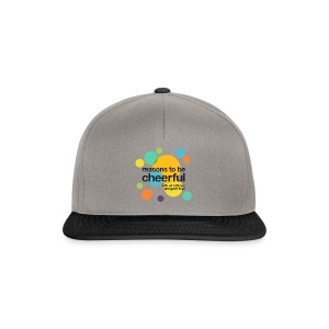 RTBC logo + names (light background) - Snapback Cap