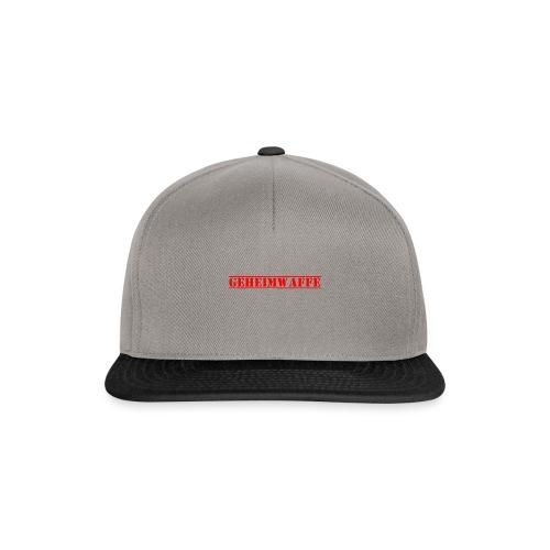 Geheimwaffe rot - Snapback Cap