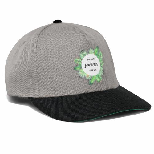 beach vibes - Snapback Cap