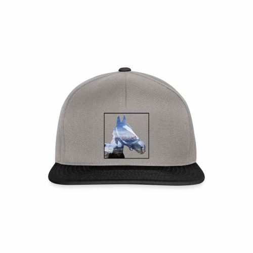 Doppelbelichtung Berge / Double Exposure Mountains - Snapback Cap