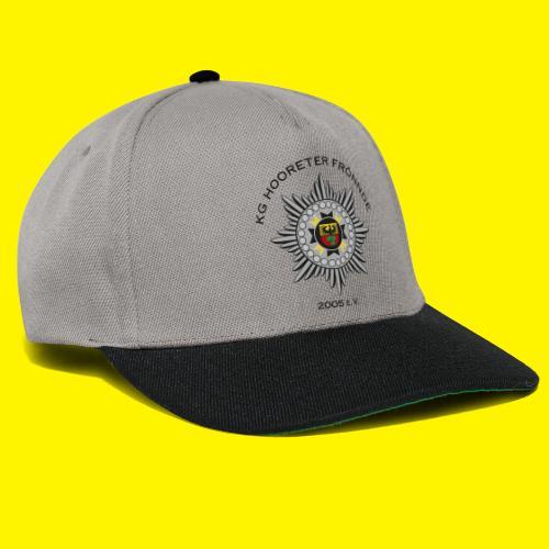 Schwarze Schrift - Snapback Cap