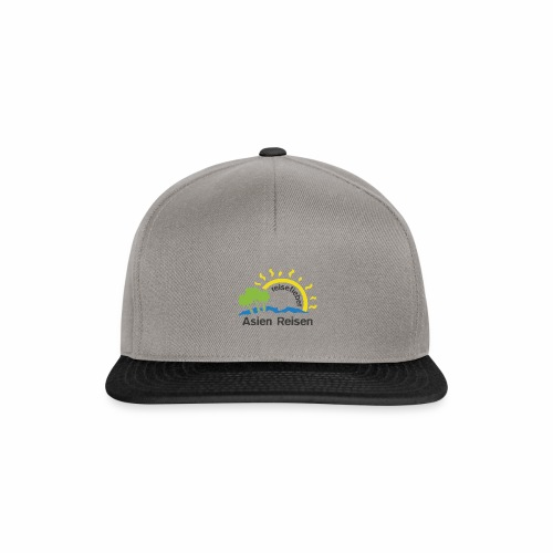 reisefieber Asien Reisen - Snapback Cap