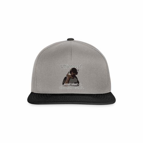 Uffjepasst v1 2560x - Snapback Cap