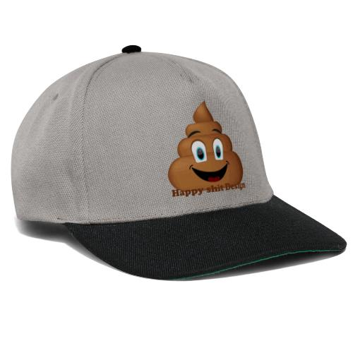 Happy Shit - Snapback Cap