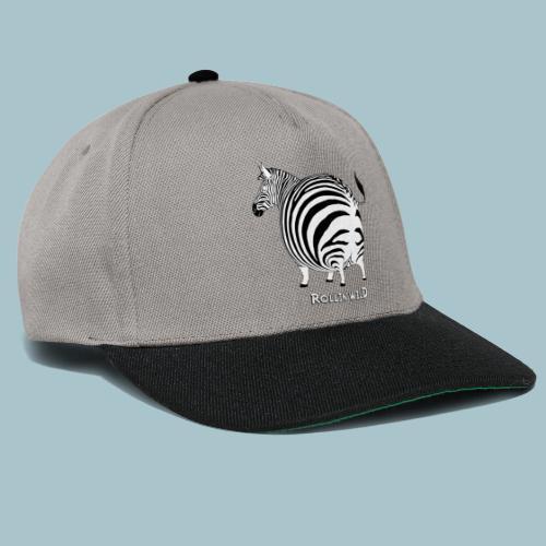 Rollin' Wild - Zebra - Snapback Cap