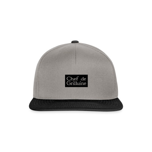 Chef de Grilluine - der Chef am Grill - Snapback Cap