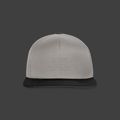 Keyboard - Snapback Cap