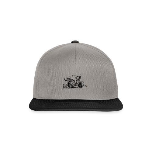 Futuristic design tractor - Snapback Cap