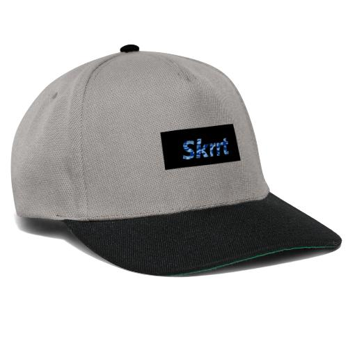 Skrrt Camuflage Blue - Snapback Cap