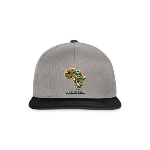 Africaismylife Logo - Snapback Cap