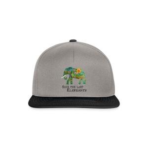 Save The Last Elephants - Snapback Cap