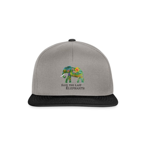 Save The Last Elephants - Snapback Cap