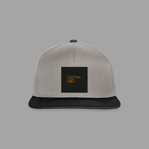 Günni Günter Design Black Background- - Snapback Cap