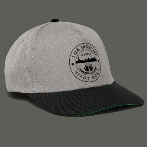 Logo schwarzweiss - Snapback Cap