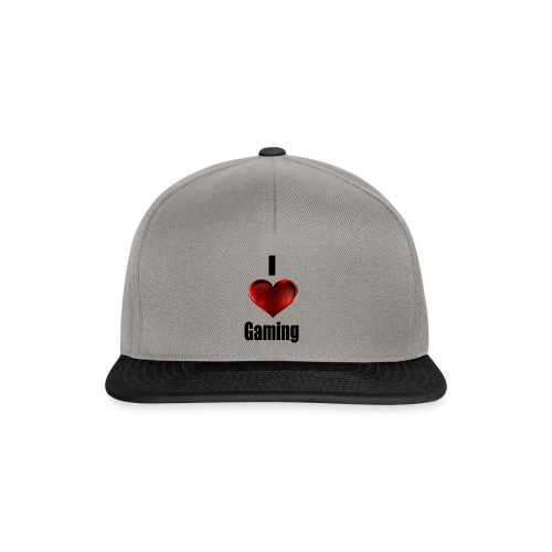 i love gaming - Snapback Cap